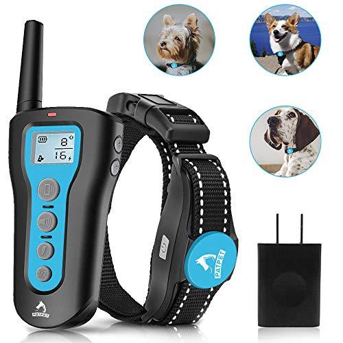 PATPET Dog Training Collar Rechargeable Dog Shock...