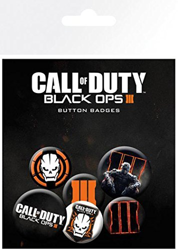 GB Eye Call of Duty Black Ops 3, Mix Badge Pack