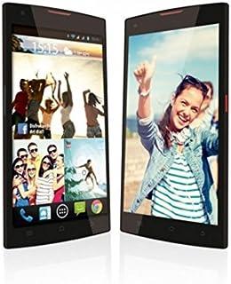 "Wolder miSmart Fun - Smartphone Libre de 5.5"" (Quad Core a 1.3 GHz, Dual SIM, 1 GB de RAM, 8 GB Memoria Interna, cámaras de 2 MP y 8 MP, Android 4.4)"