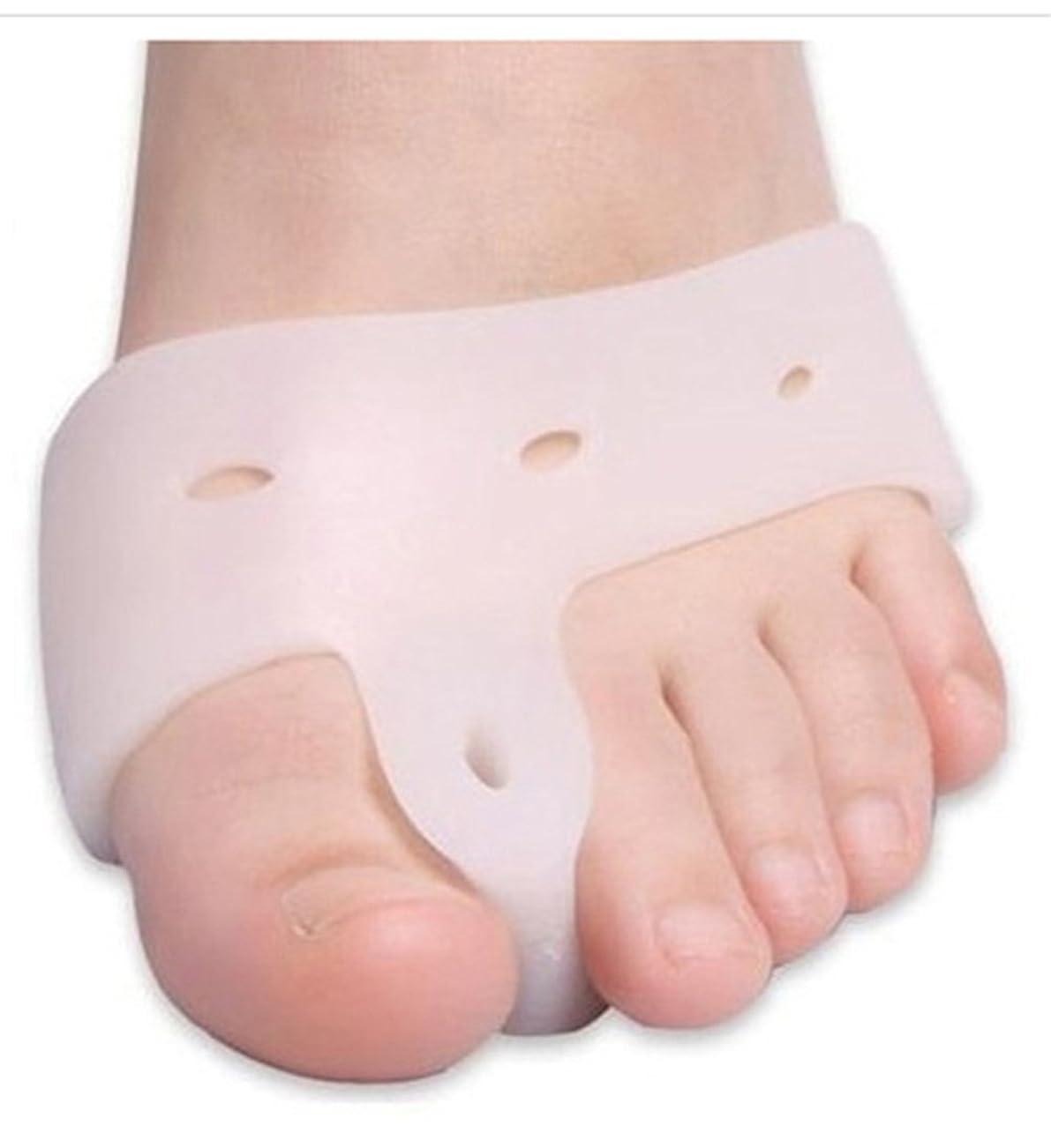 もちろんアンドリューハリディフェデレーションWorld Star? Original Deluxe Bunion Pad & Toe Spacer - 2 Pieces - Soft Gel Toe Separators for Active People - Pain Relief for Bunions & Tailor's Bunions [並行輸入品]