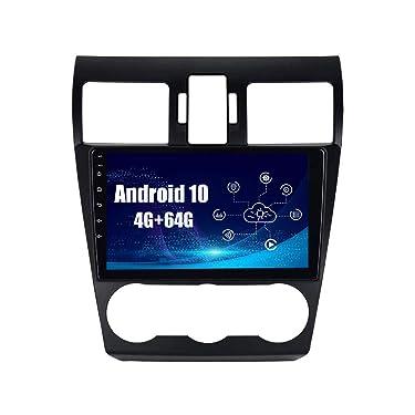 SYGAV Android 10 Car Radio Stereo for Subaru Forester WRX XV Crosstrek Impreza with Carplay GPS Navigation HD 1280x720 Touch Screen Head Unit