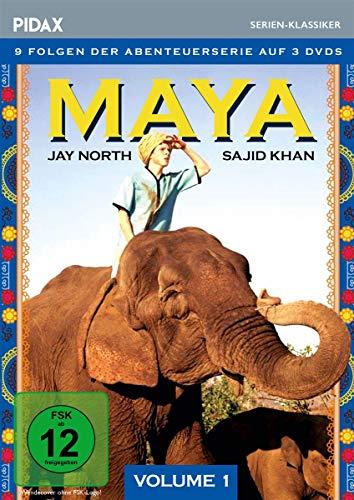 Maya, Vol. 1 / Die ersten 9 Folgen der Kult-Abenteuerserie (Pidax Serien-Klassiker)