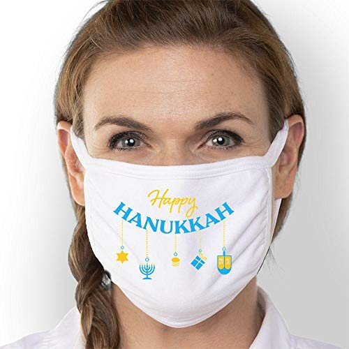 Happy Hanukkah Face Mask | Triple-Ply 3 Pack