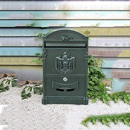 YONGYONGCHONG Brievenbus Brievenbus Villa in de buitenlucht waterdichte muur creatieve tuin Mailbox veiligheidspostvak