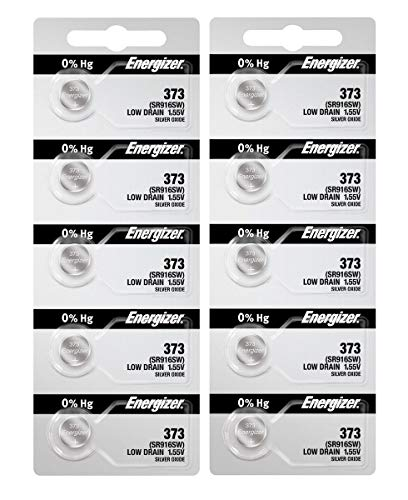 10 373 Energizer Watch Batteries SR916SW Battery Cell by Energizer