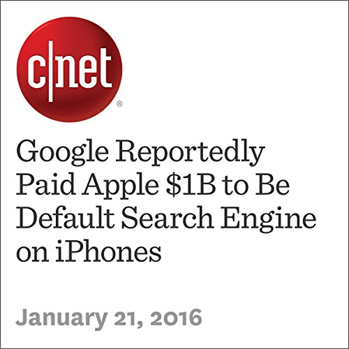 Google Reportedly Paid Apple $1B to Be Default Search Engine on iPhones cover art