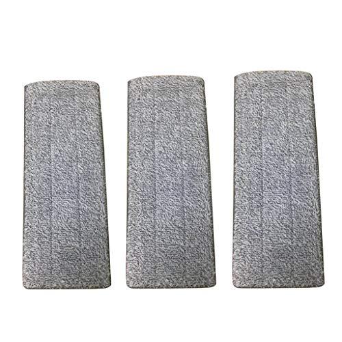 HSKB Profi micro duo ruitenwisser, microvezel met speciale boren, absorberende en reinigingssterke vloerwisser, vervangingovertrek voor gladde vloeren