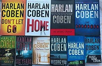 Harlan Coben Mystery Novel Collection 10 Book Set