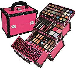 BR Carry All Trunk Train Case With Makeup And Reusable Gift Set A Perfect Started Kit Super Cute