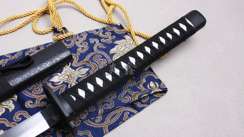 "AIT Collectibles S2623 Anime SHAKUGAN NO Shana Yuji Sakai Sword Shiny Brush White HAMON Blade 41"""