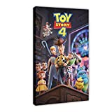 Toy Story 4 Leinwand-Poster, Anime The Movie Hollywood