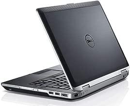 Premium Dell Latitude E6430 14 Inch HD Business Laptop (Intel Core i7-3520M up to 3.6GHz, 8GB DDR3 RAM, 256GB SSD USB, DVD, HDMI, VGA, Windows 10 Pro) (Renewed)