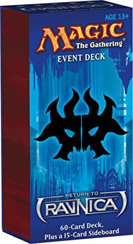 Magic the Gathering: Return to Ravnica Event Deck - Wrack and Rage (Rakdos Guild) by Wizards of the Coast (English Manual)