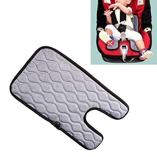 Verwarmde autostoelbekleding sigaret baby-auto-aansteker-stekker-stoelbekleding warm stoelverwarming baby-stoelverwarming pad, grootte: 310x (440 + 210) x8mm grijs