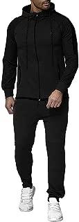 Men's Jackets Coat Overcoat Outerwear Autumn Gradient Zipper Print Sweatshirt Top Pants Sets Sport Suit Tracksuit