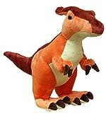 X J Toys 200001 Saurolophus Dinosaur Plush Toy, 30 cm
