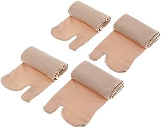P Prettyia, 2 Pare Calcetines de Chanclas Elástico 2-Toe Dividido Transpirable Absorbente para Mujer Hombre