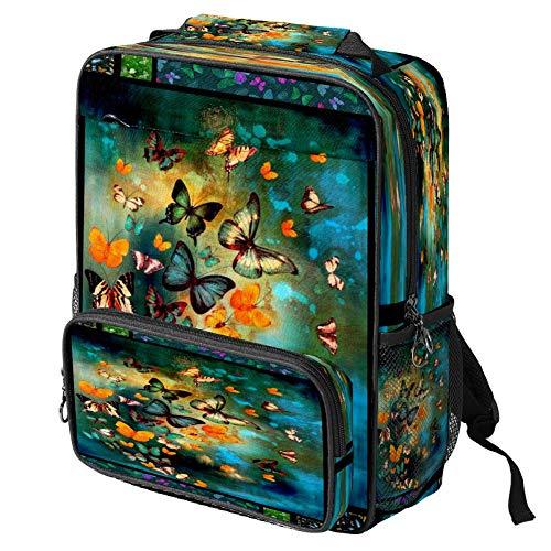 Zaino scolastico casual con stampa di calcio americano zaino per computer portatile multi-funzionale Daypack Book Satchel, Modello #7 (Multicolore) - backpacks013