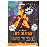 Instafire Insta-Fire Original Blend Granulated Fire Starter, All Natural, Eco-Friendly, Lights Fires in Any Weather 1.75oz Pouches (6 Packs)