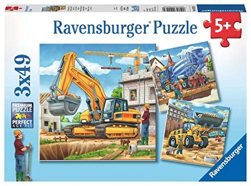 """Ravensburger 09226 0""""Vehículo de construcción Puzzle (147 Piezas)"""