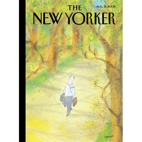 The New Yorker (Aug. 21, 2006) audiobook cover art