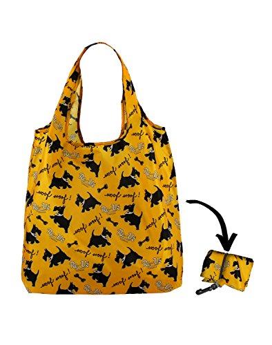 Re-Uz Lifestyle Shopper - pieghevole borse della spesa riutilizzabili - Woof Woof!