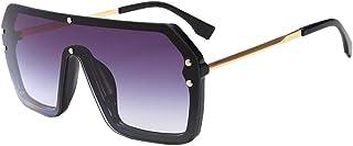 8203688518 MEIHAOWEI Escudo de gran tamaño Gafas de sol Visor Mujeres Gafas de sol de gran  tamaño