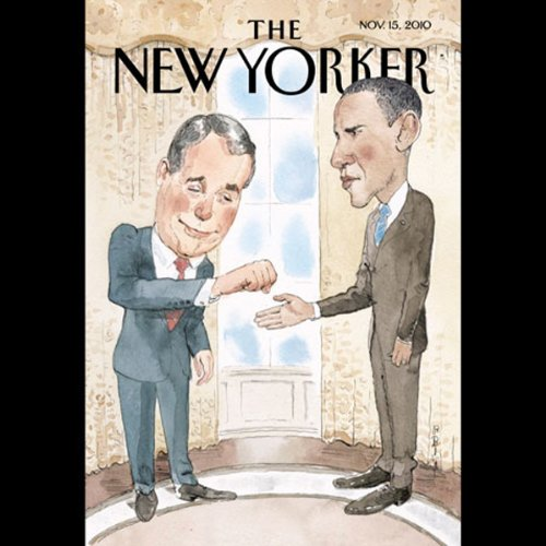 The New Yorker, November 15th 2010 (Michael Specter, Alec Wilkinson, Judith Thurman) audiobook cover art