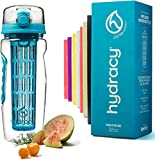 Hydracy Fruit Infuser Water Bottle - 32 oz Sports...