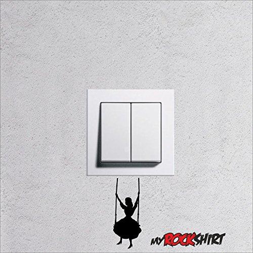 Wandtattoo für Steckdose / Lichtschalter