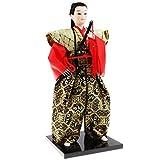 Homyl Figurines Japonaises Samouraï Poupée Objets de Décoration - # 1