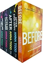 Anna Todd Before And After Series 6 Books Set Collection, Nothing More, After...