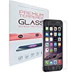 WELKOO Displayschutzfolie für iPhone 6 / 6s, Gehärtetes Glas Schutzfolie, 9H Härte, Kratzfest, Blasenfrei. Panzerglas für iPhone 6 / 6s