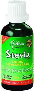 Nirvana Organics Stevia Liquid Concentrate 50 ml