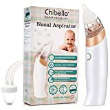 Baby Nasal Aspirator-Provides Safe Nose Suction and Gently Clears Infant's Mucus. Battery ...