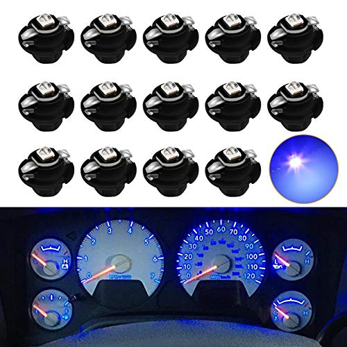 MbuyDIY Blue LED Lights Bulbs for Instrument Gauge Cluster Panel Speedometer Compatible with 2002-2006 Ram 1500 2500 3500 Pickup Truck