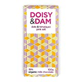 D&D Date & Himalayan Pink Salt 39% Milk Chocolate 100g