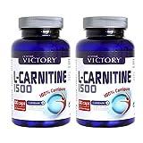 L-Carnitine 1500 Caps Duplo 2 Unidades. 2 botes de 120 capsulas. La ayuda que necesitas para perder peso.