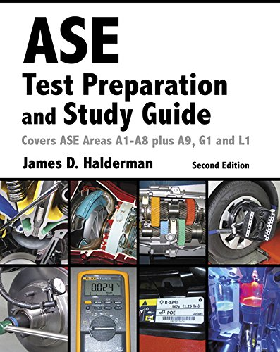 ASE Test Prep and Study Guide (2nd Edition) (Automotive Comprehensive Books)