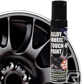 Lápiz de pintura profesional E-Tech para retoques de las llantas de aleación del coche, color negro