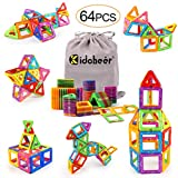 KIDCHEER Magnet Building Tiles, Magnetic 3D Building Blocks Set for Kids, Magnetic Educational
