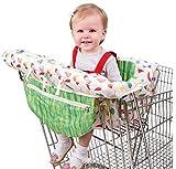 YDOZ Chytaii.Bebé Niños Compras Cojín fodable con cinturón 2-en-1 Extra Suave bebé Compras Push Cart Protección Silla del bebé de la Cubierta del Asiento Mat