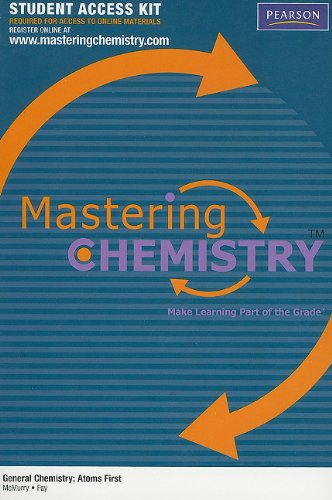 MasteringChemistry Student Access Kit for General...