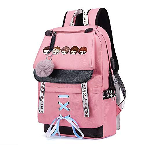 Shinee Rucksack für Kinder und Jugendliche Rucksack Daypack Schoolbag Trekkingrucksack Wandern Bag Trend Damenmode Wild Style Sport Erwachsene Gelegenheits Kinder