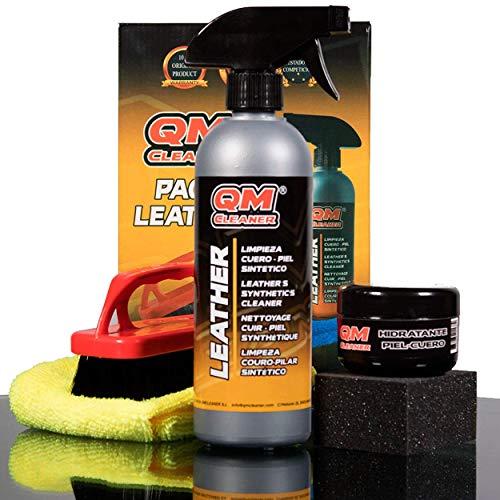 QM Leather - Limpiador para cuero, piel y polipiel