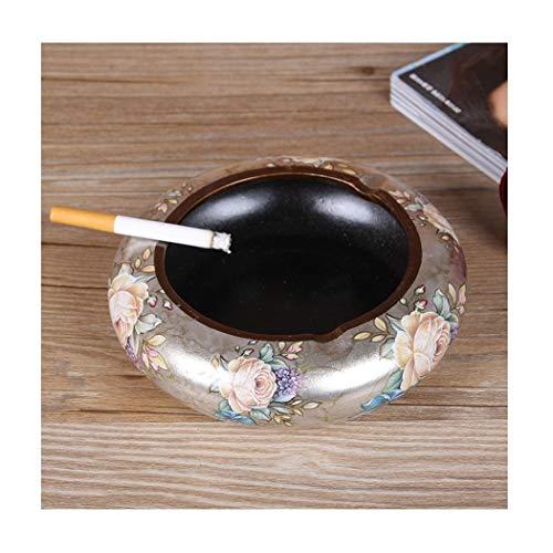 Keramische asbak sigaar asbak salontafel woonkamer decoratie moderne ambachten buiten en binnen asbak cadeau voor mannen vrouwen, C