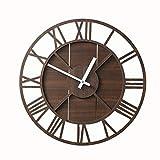DJASM ZZWZM Large Decorative Wall Clock, Modern...
