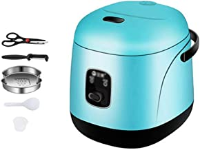 Mini Rice Cooker, Cuisinière électrique Hot Pot Egg Cooker Acier Hot Pot Hot Pot aménagee, Sauteacute antiadhésifs;Pan, ra...