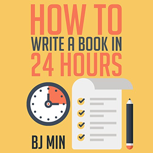 How to Write a How-To Book in 24 Hours audiobook cover art