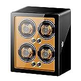 XXSHN Enrolladores de Reloj Caja de bobinado de Reloj Vertical Inteligente Relojes mecánicos automáticos Agitador Motor silencioso Dispositivo de Reloj Giratorio 5 Modos de rotación únicos